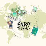 Sustainable when traveling