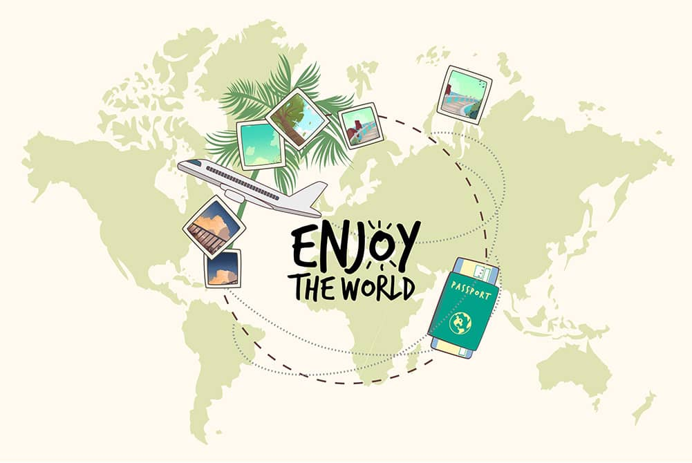 Sustainable traveling tips