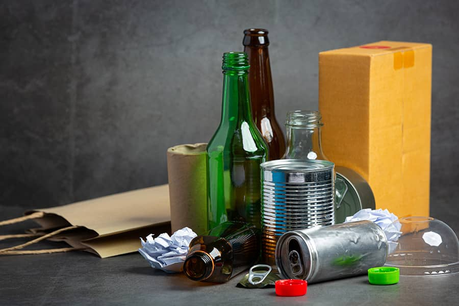 Recycling and Reusing Reduce Pollution