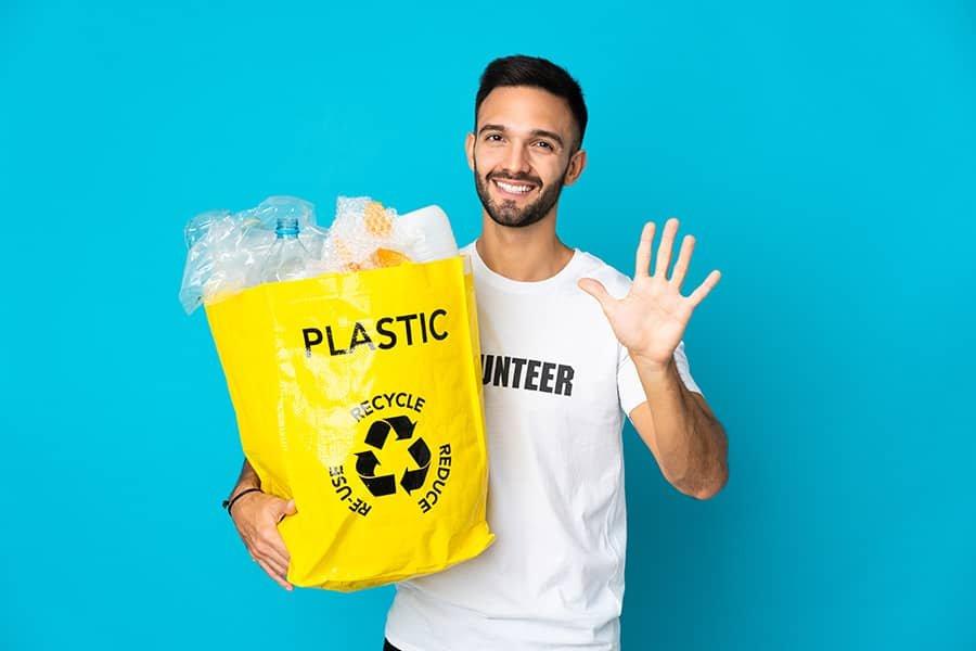 Recycling Symbols on Plastics