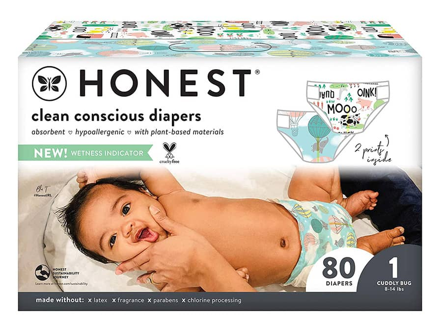 The Honest Company Eco-Friendly Diapers