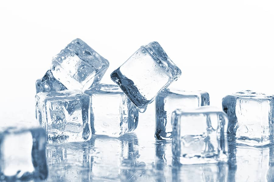 reuse ice cubes